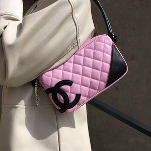 Chanel Pink Cambon Shoulder Bag